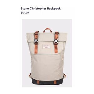 Doughnut Stone Christopher Backpack new With Tags